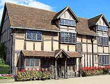 Picture of the world-famous Shakespeare's Birthplace