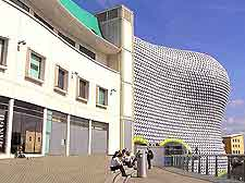 Photo of Birmingham's modern Bullring Shopping centre