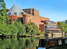 View of the River Avon and the Royal Shakespeare Theatre