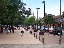 Photograph of parking in the town centre