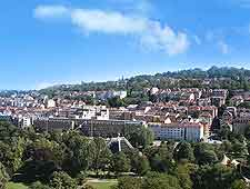 View of the Stuttgart cityscape