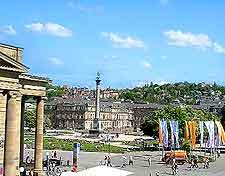 Image of Stuttgart's Schlossplatz