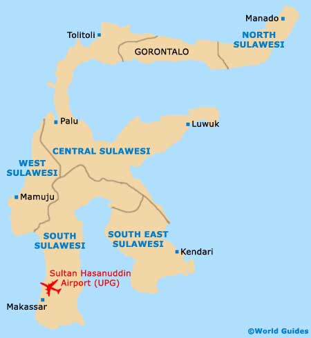 Small Sulawesi Map