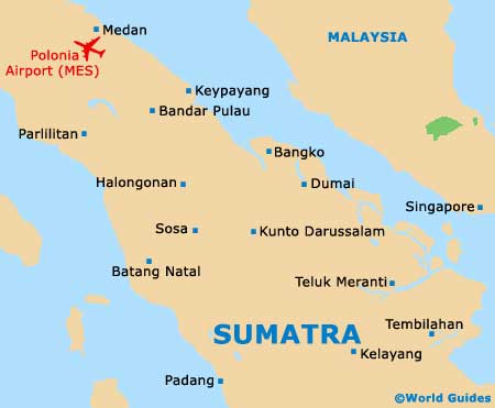Small Sumatra Map