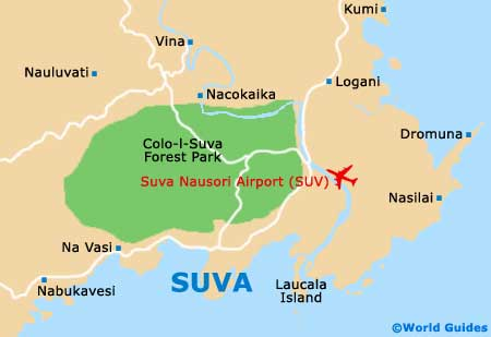 Map of suva nausori airport suv orientation and maps for suv suva suva nausori international airport suv orientation and maps gumiabroncs Choice Image