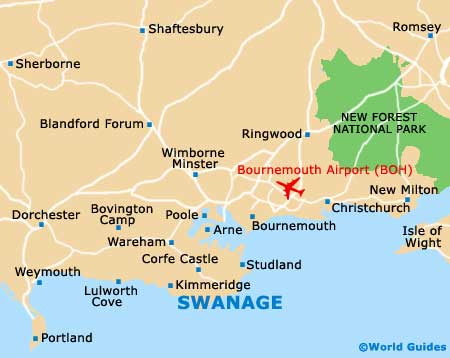 Swanage map