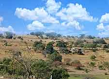 Photo of expansive countryside in Swaziland