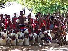 Photo of local dance festival in Swaziland