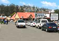 Photo of traffic in Swaziland's capital of Mbabane