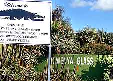 Image showing the entrance to the Ngwenya Glass Village