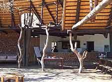 Image of typical wildlife park restaurant