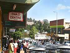 Image of shops and craft centres in Mbabane