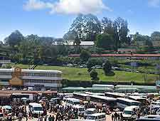 Picture of bus transport of Swaziland