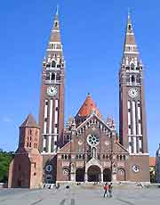 Picture of the cathedral (Votive Church)