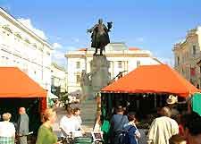 Picture of bustling central market