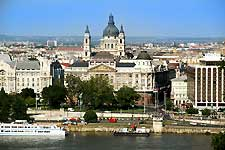 Picture of the city of Budapest