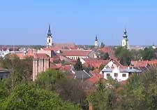 Photo of the Szarvas skyline
