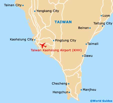 Taiwan Kaohsiung Airport Map