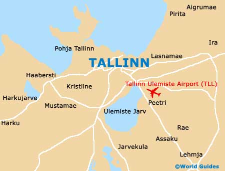 Tallinn Maps And Orientation Tallinn Harjumaa Estonia - Tallinn map
