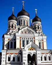 Photo showing the Alexander Nevsky Cathedral