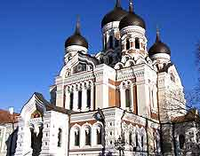 Further photo of the Alexander Nevsky Cathedral