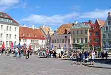 View of the Old Town Square