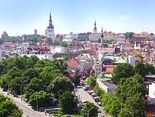 Tallinn Airport (TLL) Directions and Car Rental: Photo of the city's main roads