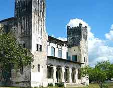 Image of historic church in Bagamoyo
