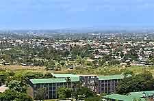 Scenic cityscape picture of Dar es Salaam