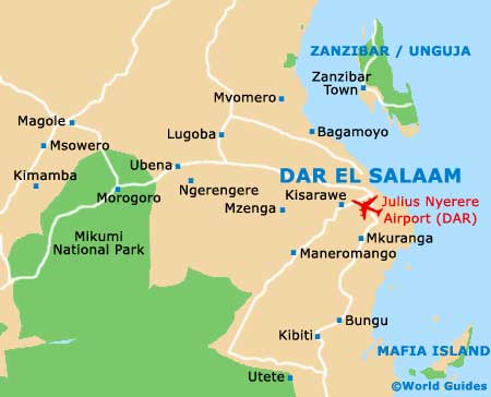tanzania maps and orientation tanzania east africa