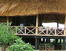 Picture of restaurant within the Tarangire National Park