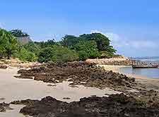 Picture showing Stone Town's popular Fumba Beach, Zanzibar