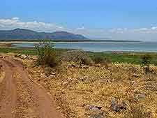 Lake Manyara National Park view