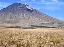 Ol Doinyo Lengai photo, an active volcano
