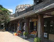 Photo of shops in Zanzibar
