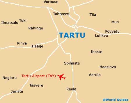 Small Tartu Map
