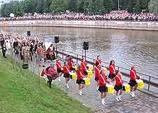 Picture of riverfront parade