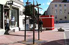 Photograph of the Town Hall Square