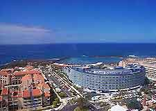 Aerial view over Tenerife
