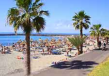 Photo of promenade along a Tenerife beach