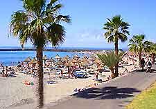 Photo of promenade along a Tenerife beach