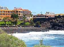 Photo of hotels on Tenerife's coast