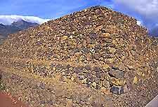 Guimar Black Pyramids of Tenerife photograph