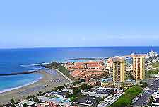 Rooftop view of Tenerife hotels