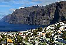 Picture of the Cliffs of the Giants, Tenerife