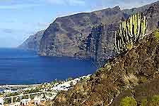 Image of the Cliffs of the Giants (Acantilados de los Gigantes) in Masca, Tenerife