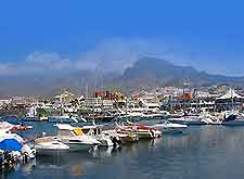 Image of boats in a Tenerife marina
