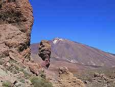 Scenic image of Los Roques de Garcia and Mount Teide, Tenerife