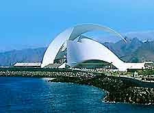 Tenerife Opera House and coastline image