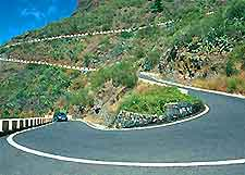 Picture of roads in Tenerife